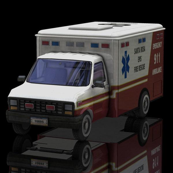3d medical rescue vue