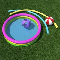 3d model kiddie pool