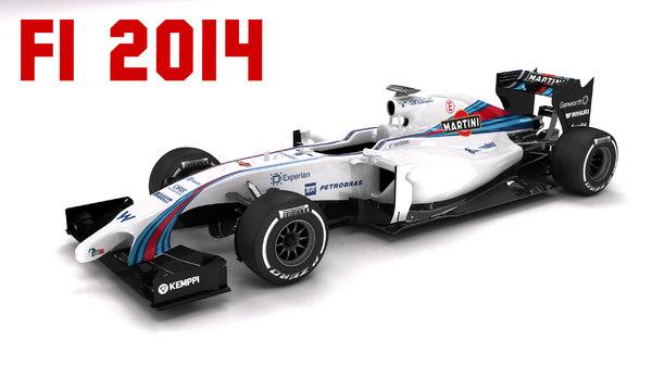 max 2014 williams fw36 formula 1