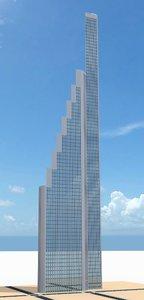 3d model skyscraper nr 15