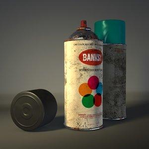 obj spray paint