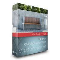 CGAxis Models Volume 30 Street Equipment VRay
