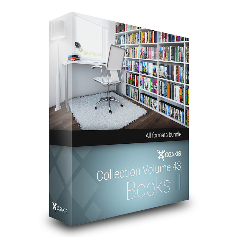 3d model volume 43 books ii