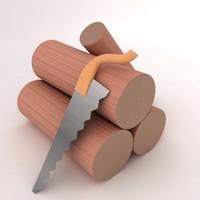 max wood log