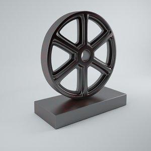 3d model of dialma brown ornament