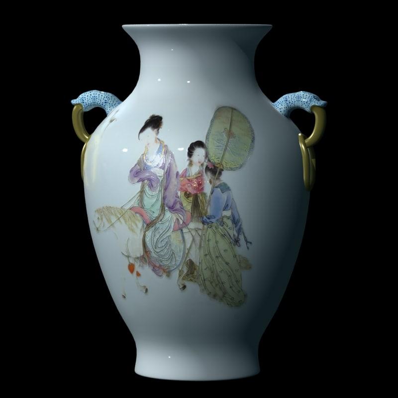 chinese vase 3d model