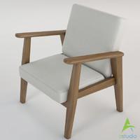 ekenaset armchair 3ds