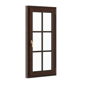 3d obj window wood wooden
