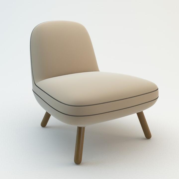 fantasia lounge chair max