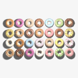 3ds max doughnuts ring
