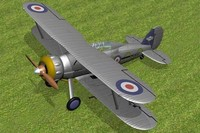 3ds max gloster gladiator fighter