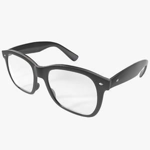 glasses design 3d model