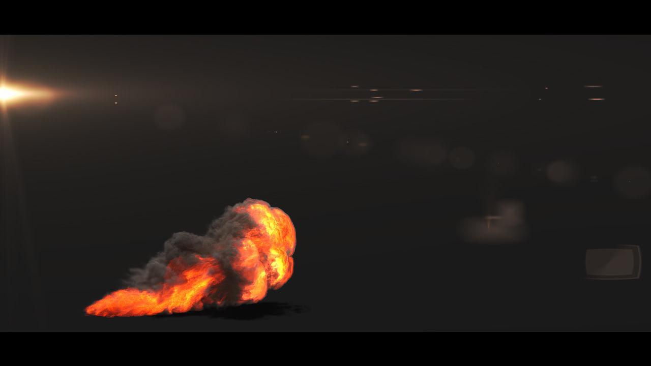 small scale smoke 3d ma