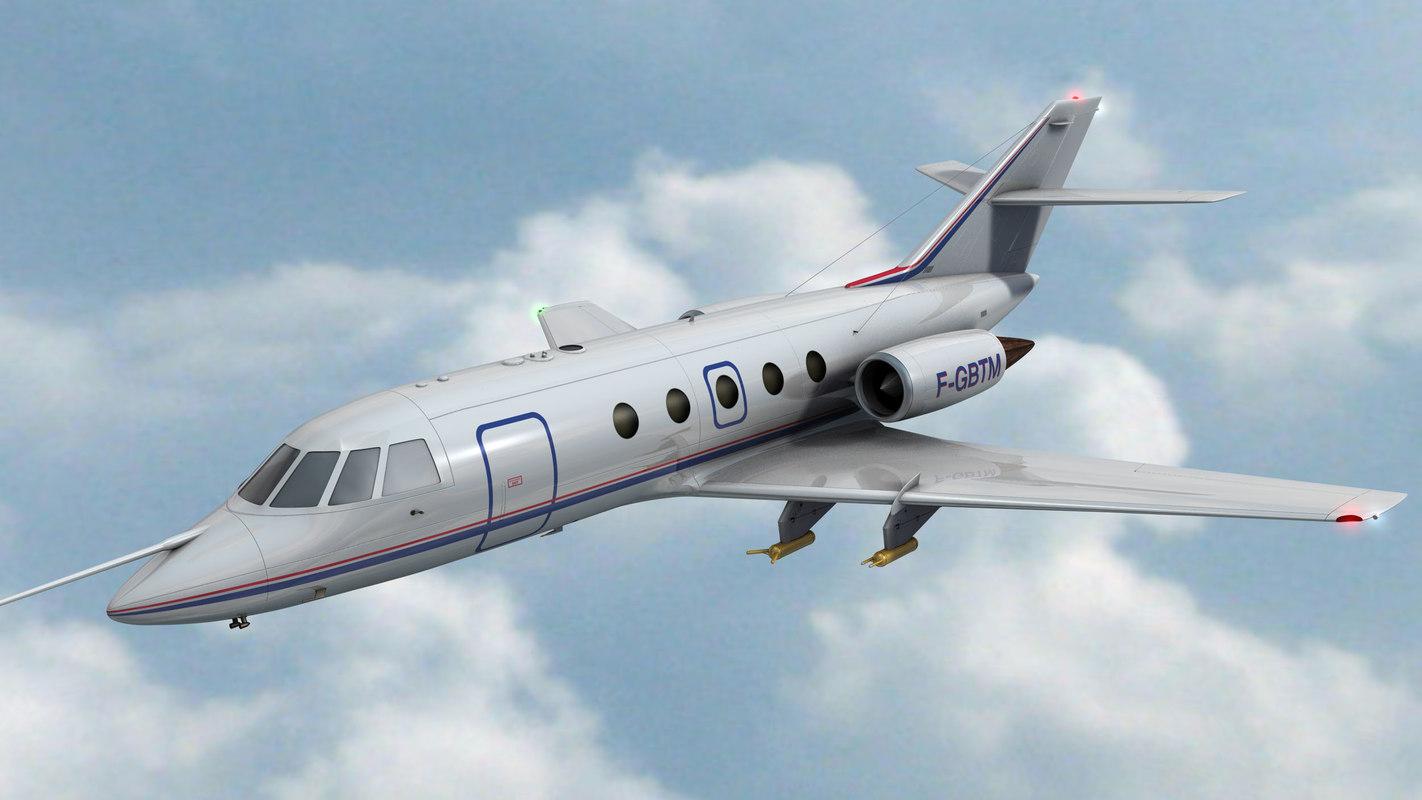 3d falcon 20 meteo model