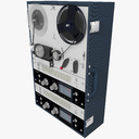 3d max reel tape recorder deck