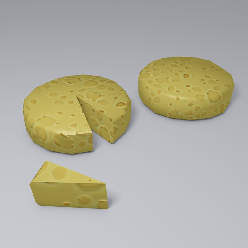 swiss cheese 3d blend
