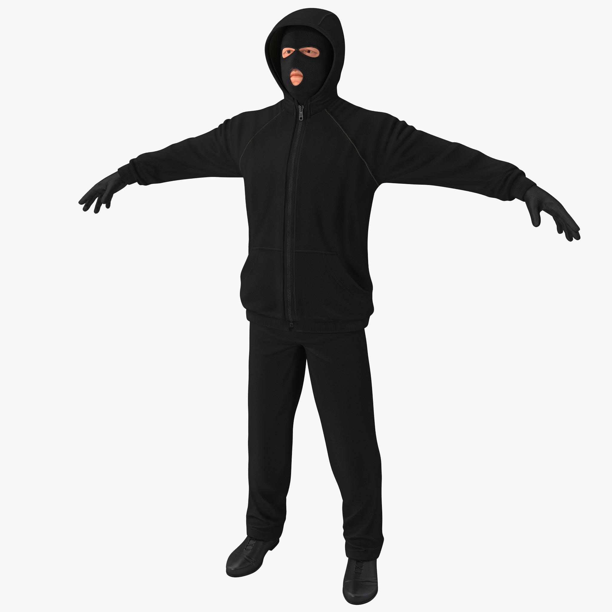 robber rigged 3d model