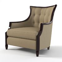 schnadig 3740-004-b chair 3d max
