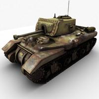 ram tank 3d model