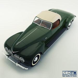 zis 101a sport 3d model