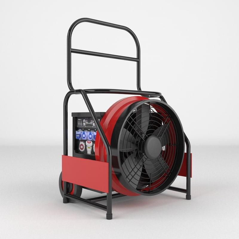 industrial fan max