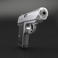 3d gun pistol handgun