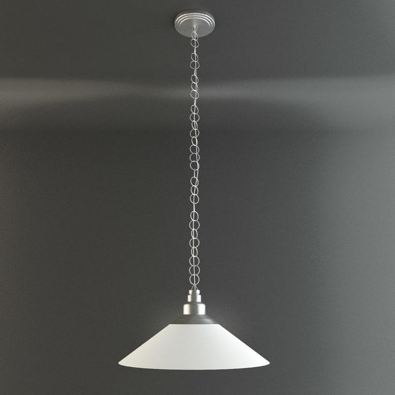 3d model ikea kroby pendant lamp