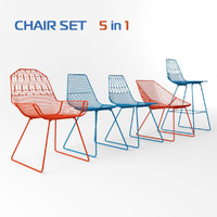 Bend Chairs set