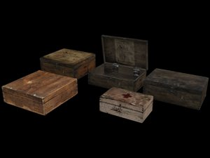 3d little crates
