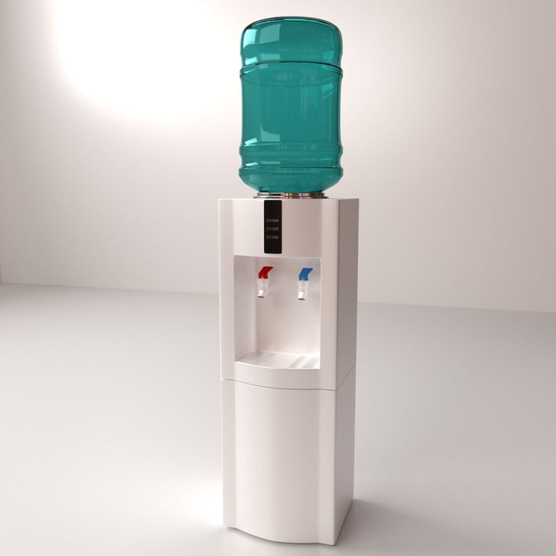 3ds max water dispenser