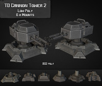 td cannon tower 02 3d 3ds