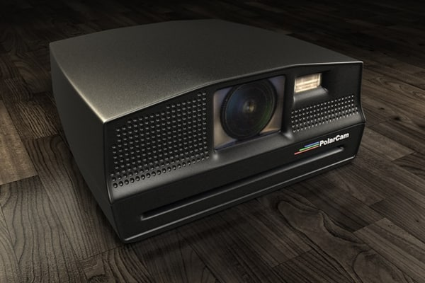 polaroid camera obj free