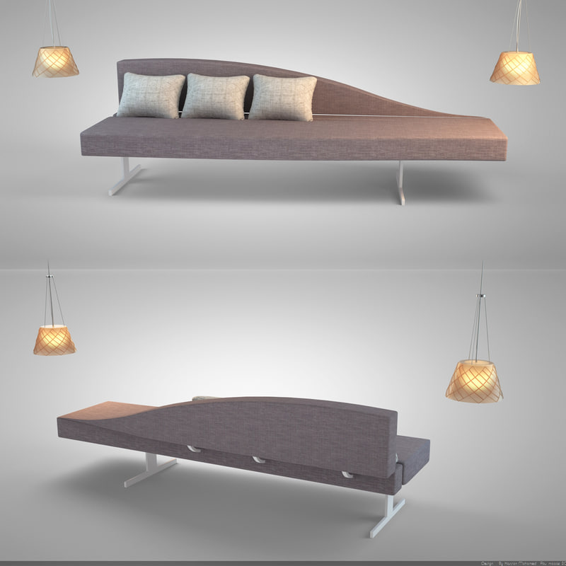 3ds aspen sofa lamp