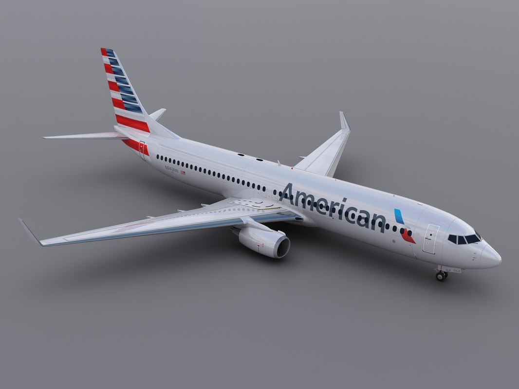 aircraft aa 3d model