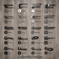 handles colombo design 3d model