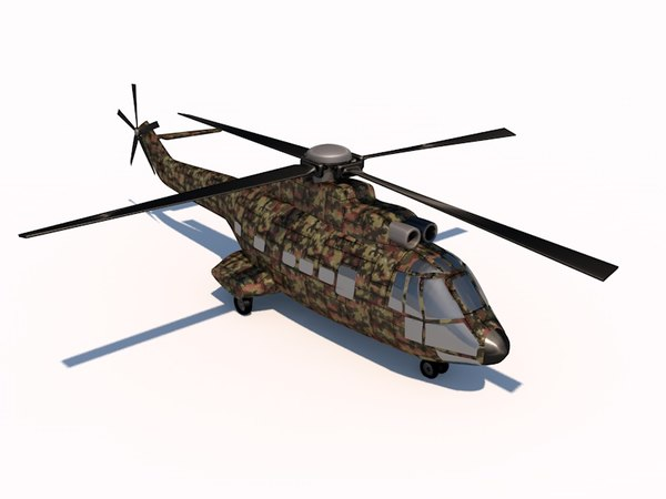 cinema4d eurocopter 332
