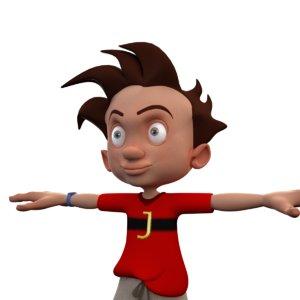 dwg kid cartoon toon