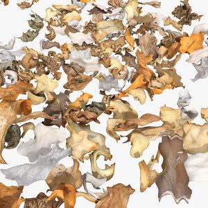3d model paper trash rubbish