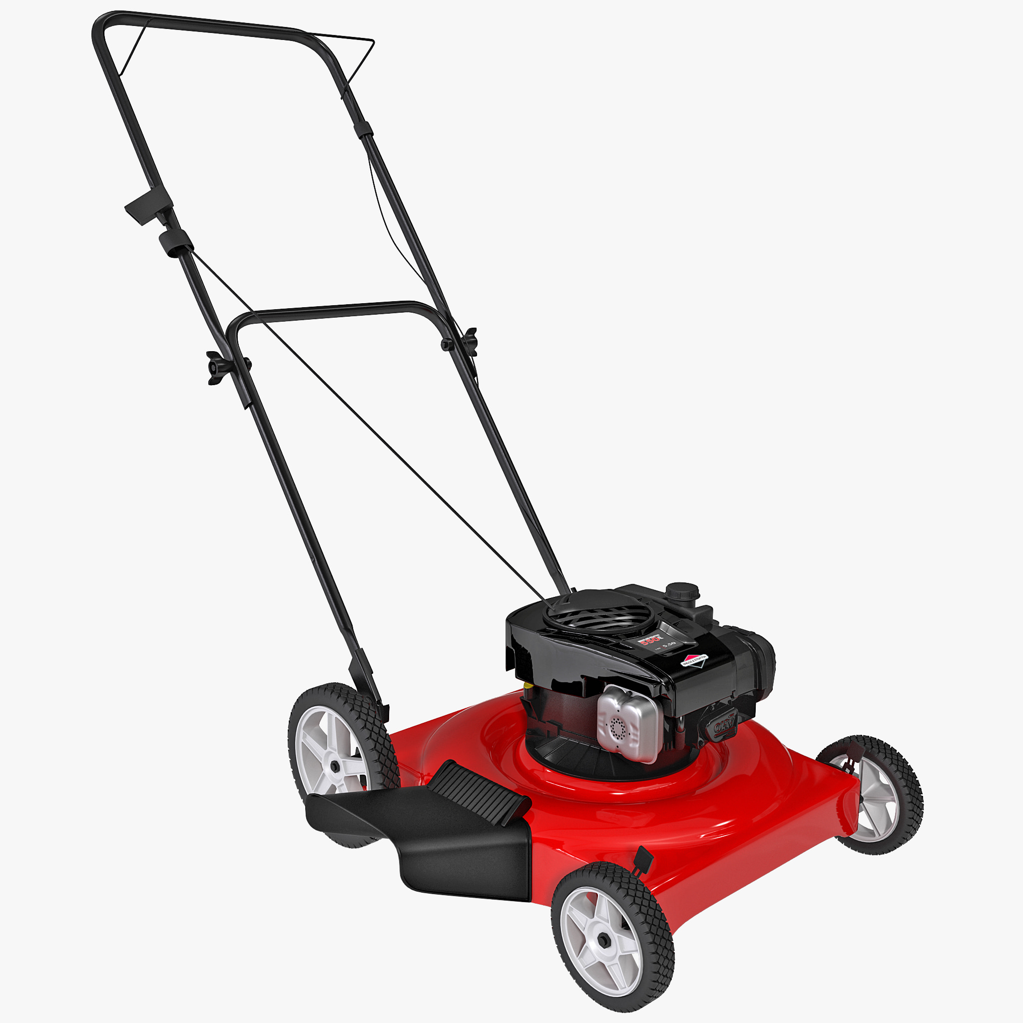 max gas powered lawn mower