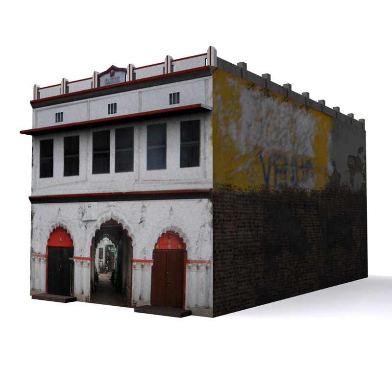 local indian house 3d model