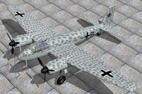 german junkers ju88g night lwo