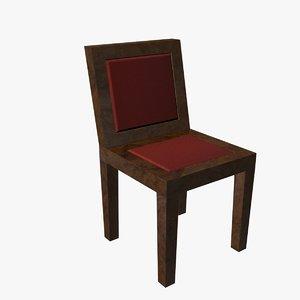 3dsmax fabric chair