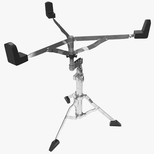 snare drum stand 3d model