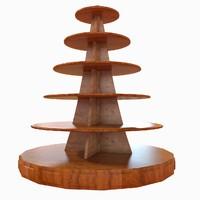 3d shop wood wooden model