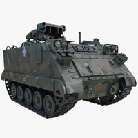 US Army Armored Vehicle M901 ITV