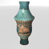 3d vase prop model