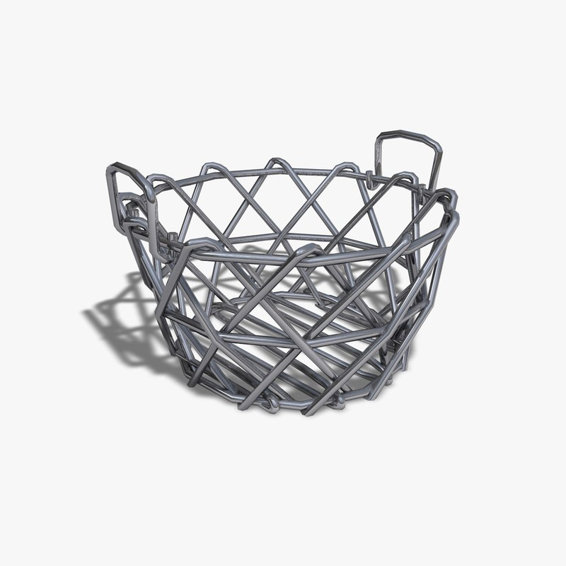 3ds max toy wire basket