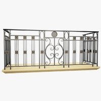 max wrought iron balcony