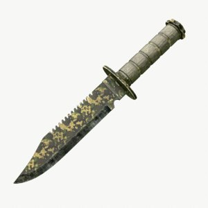 lwo survival knife