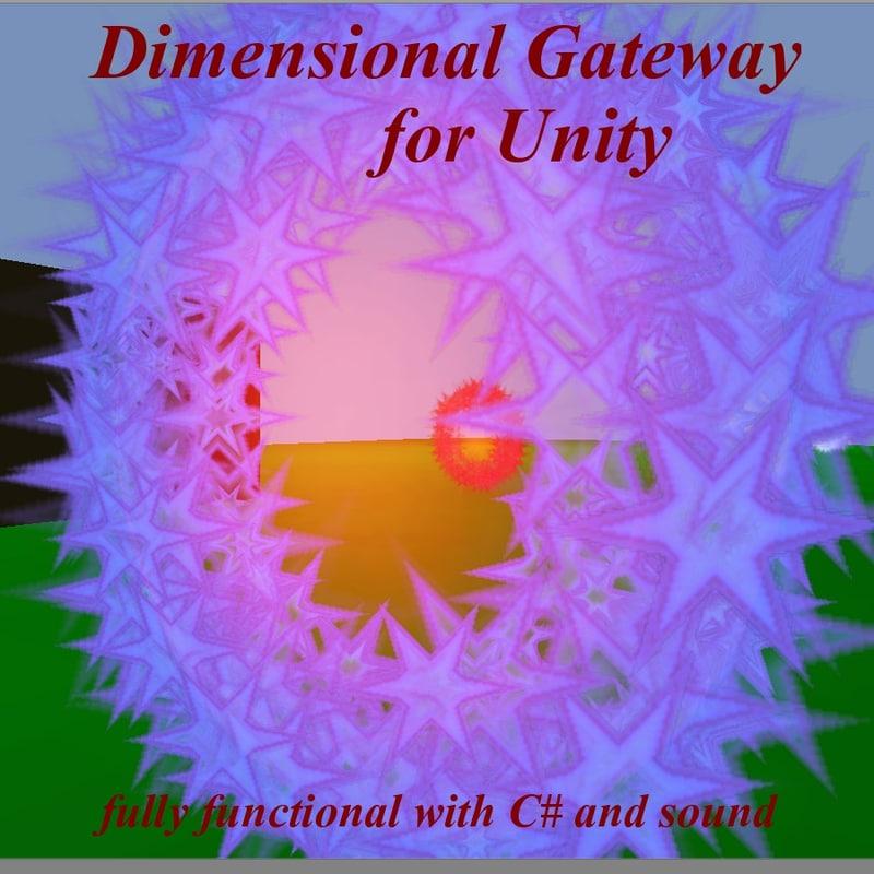 dimensional unity 3d 3ds